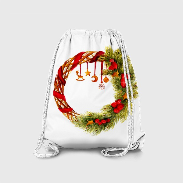 Рюкзак «Новогодний венок»