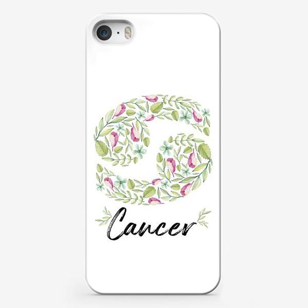 Чехол iPhone «Знак зодиака Рак»