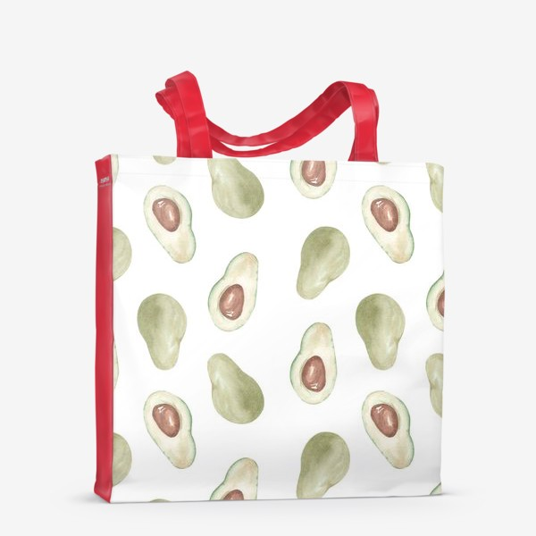 Сумка-шоппер «Авокадо паттерн»