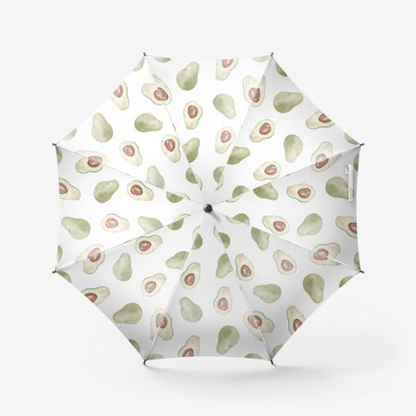Зонт «Авокадо паттерн»