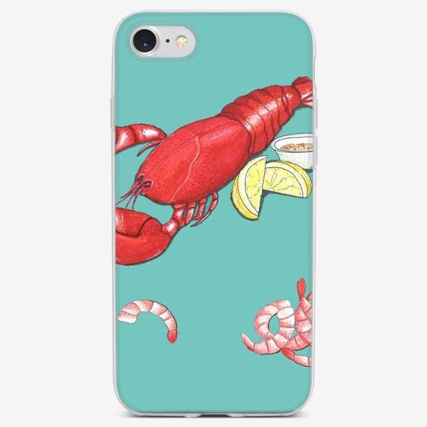 Чехол iPhone «Морепродукты»