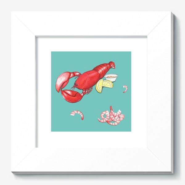 Картина «Морепродукты»