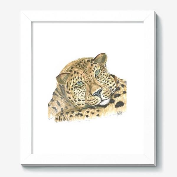 Картина «Задумчивый ягуар»