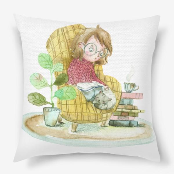 Подушка «Уютный вечер»