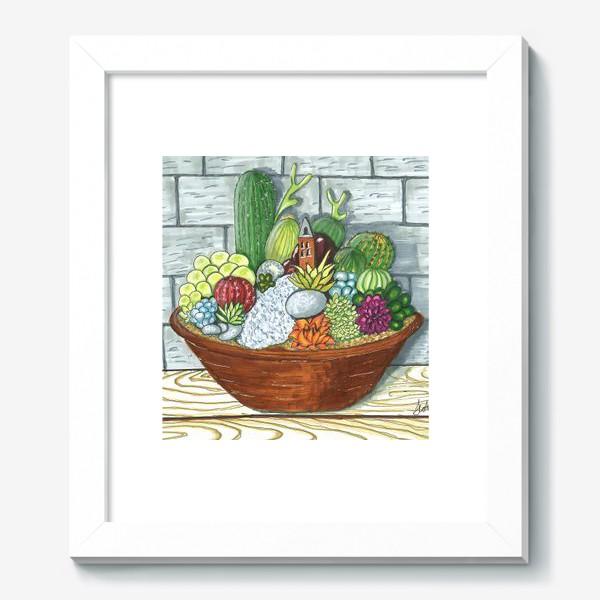 Картина «Композиция кактусов»