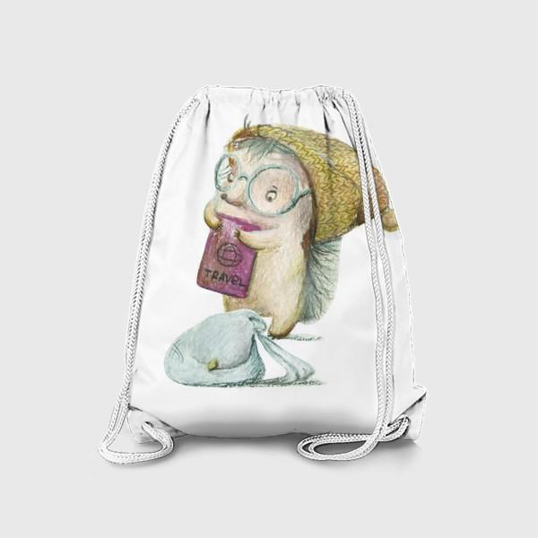 Рюкзак «Ежик-путешественник»