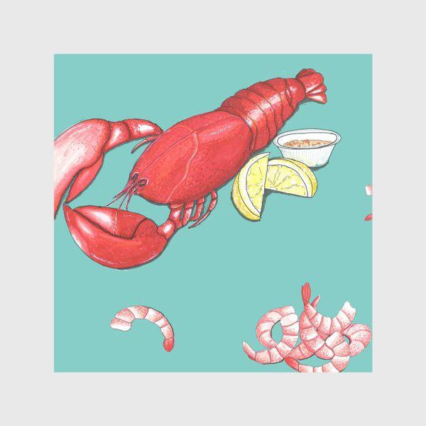 Скатерть «Морепродукты»