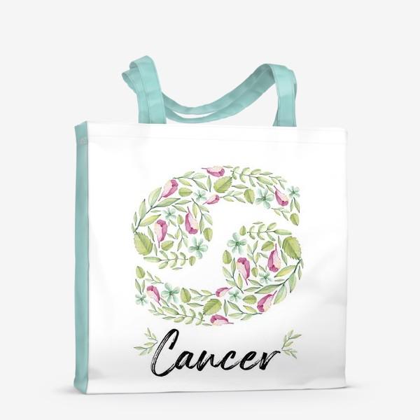 Сумка-шоппер «Знак зодиака Рак»
