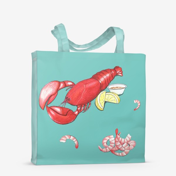 Сумка-шоппер «Морепродукты»