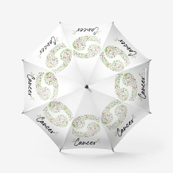 Зонт «Знак зодиака Рак»