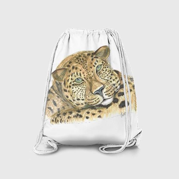 Рюкзак «Задумчивый ягуар»