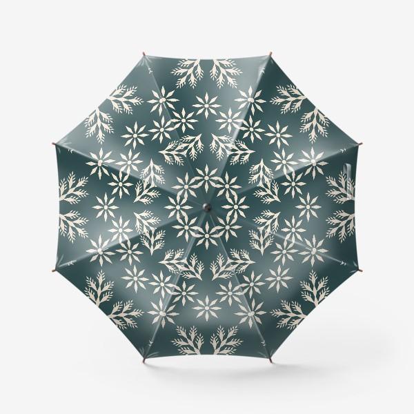 Зонт «Морозная ночь»