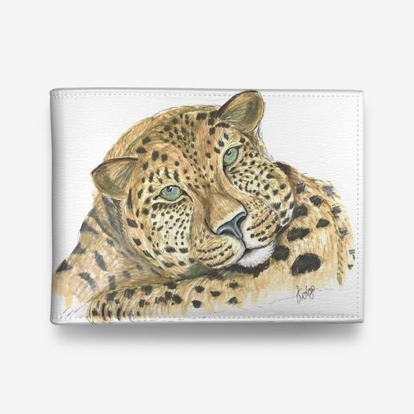 Кошелек «Задумчивый ягуар»