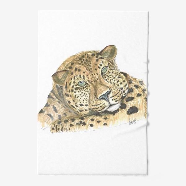 Полотенце «Задумчивый ягуар»