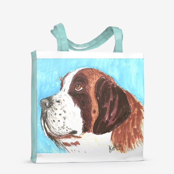 Сумка-шоппер «Грустный пес»