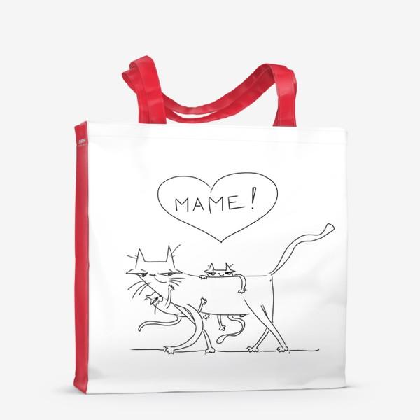 Сумка-шоппер «Любимой маме. День матери »