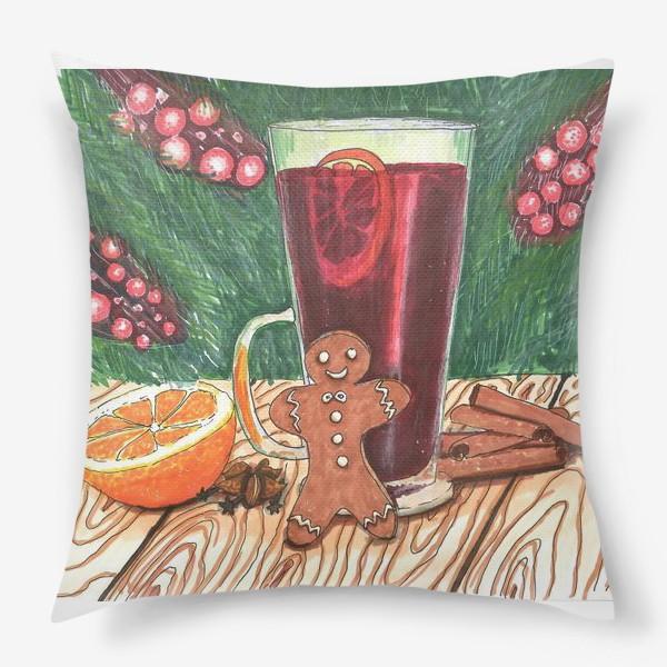 Подушка «Новогоднее настроение»