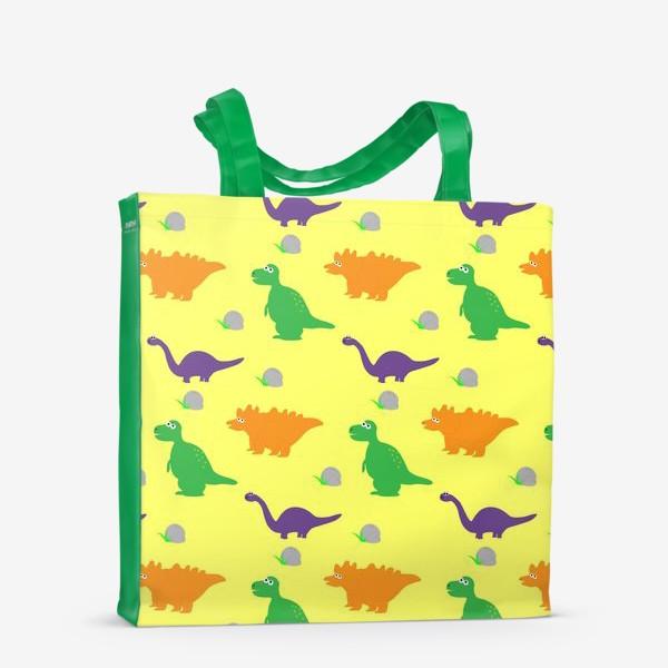Сумка-шоппер «Динозаврики»