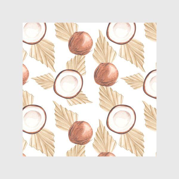 Скатерть «Коккос и пальма. Тропический паттерн»