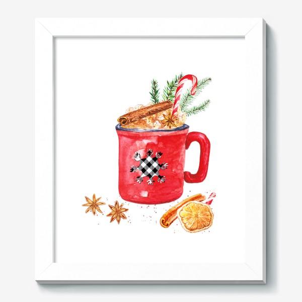 Картина «Рождественская кружка горячего шоколада»