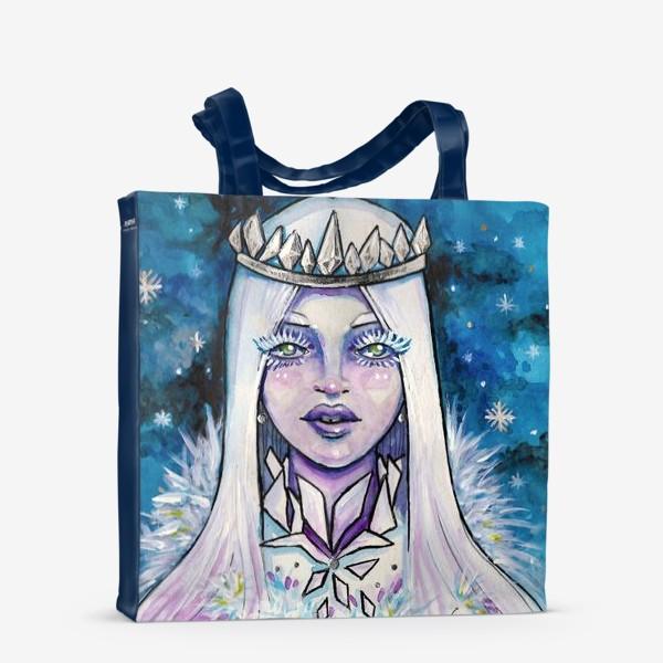 Сумка-шоппер «Снежная королева»