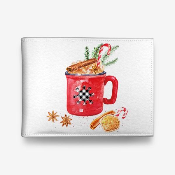 Кошелек «Рождественская кружка горячего шоколада»