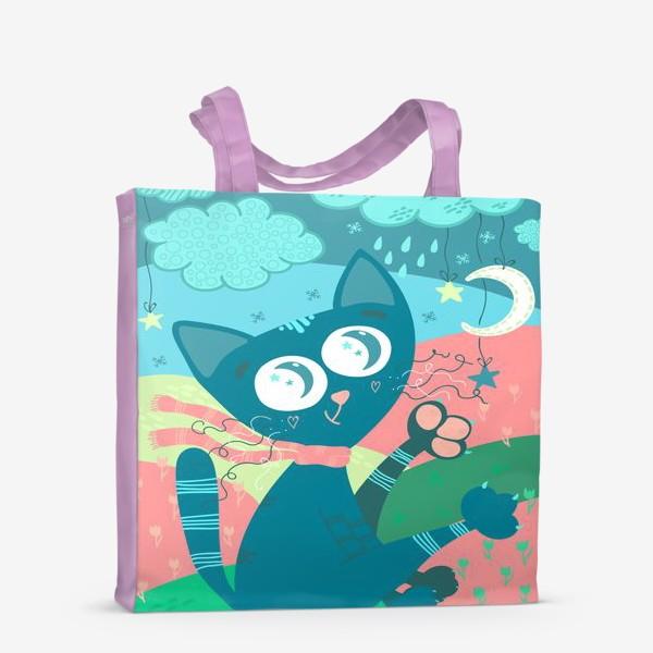 Сумка-шоппер «Мартовский кот»