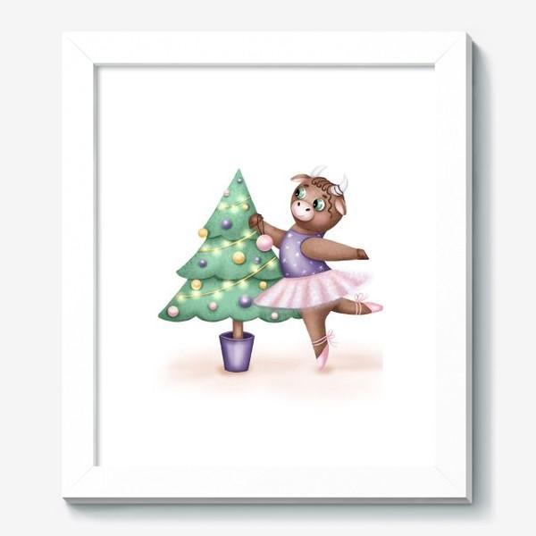 Картина «Корова-балерина»