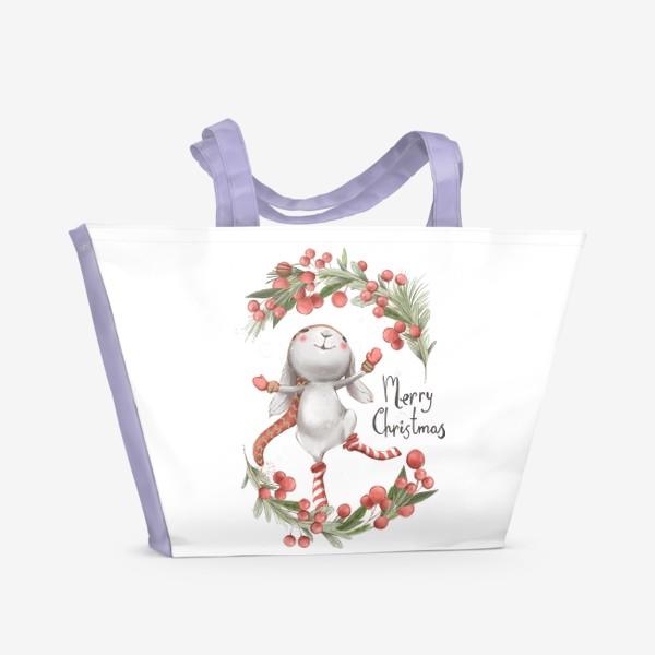 Пляжная сумка «Новый год и Рождество»