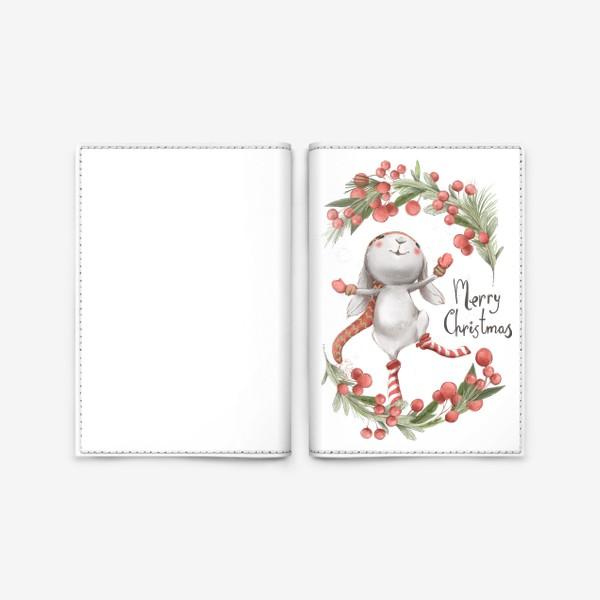 Обложка для паспорта «Новый год и Рождество»