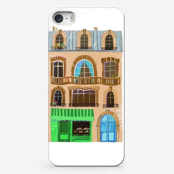 Чехол iPhone «Французский дом»