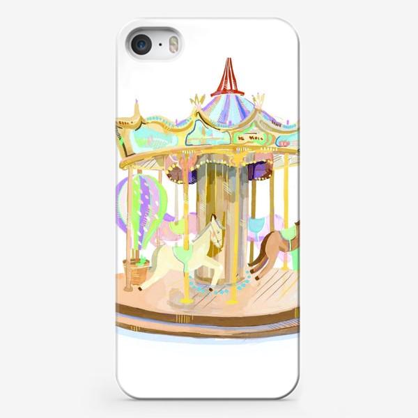 Чехол iPhone «Карусель»