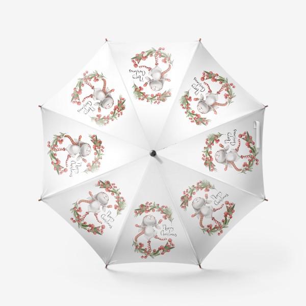 Зонт «Новый год и Рождество»