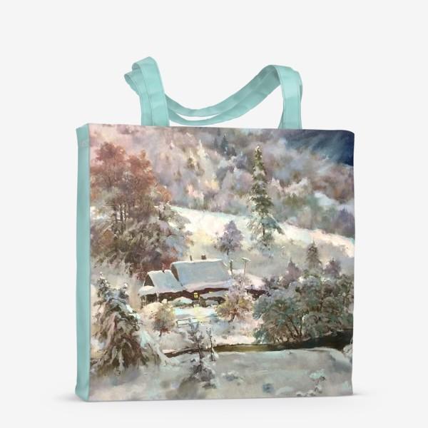 Сумка-шоппер «В снежном плену»