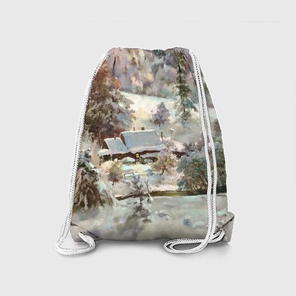 Рюкзак «В снежном плену»