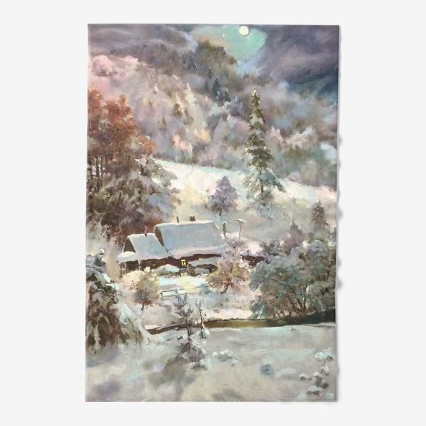 Полотенце «В снежном плену»