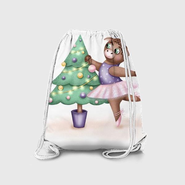 Рюкзак «Корова-балерина»