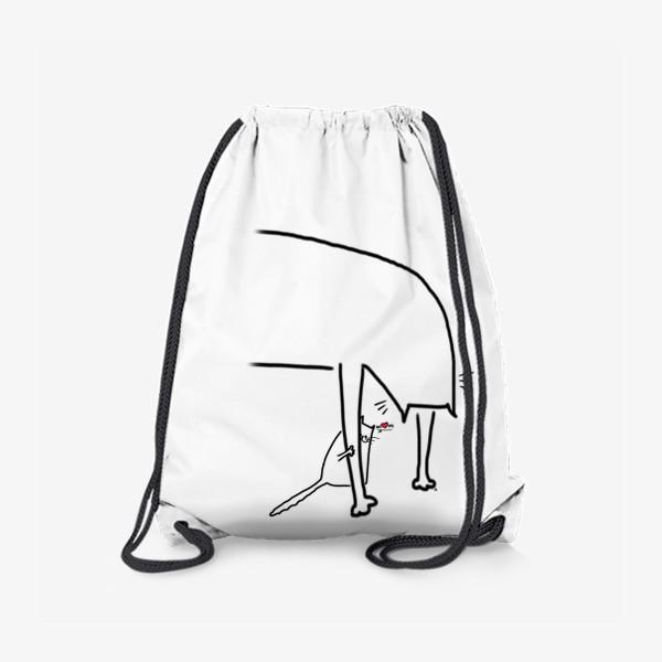 Рюкзак «Котенок за лапкой мамы. Mom. День матери »