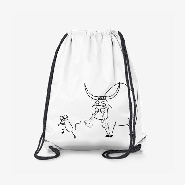 Рюкзак «Год быка 2021! Новый год»