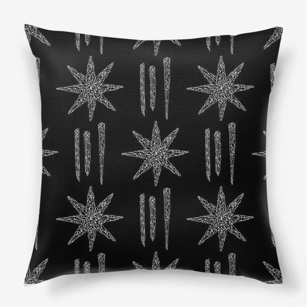 Подушка «Кристаллы»