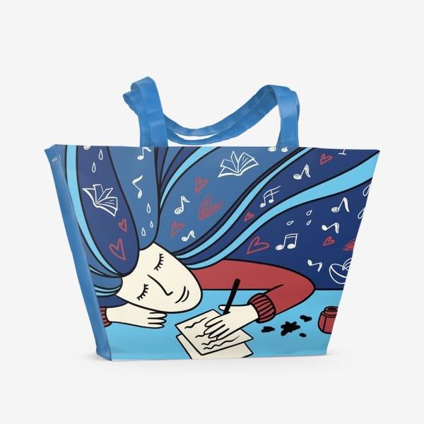 Пляжная сумка «Февраль»