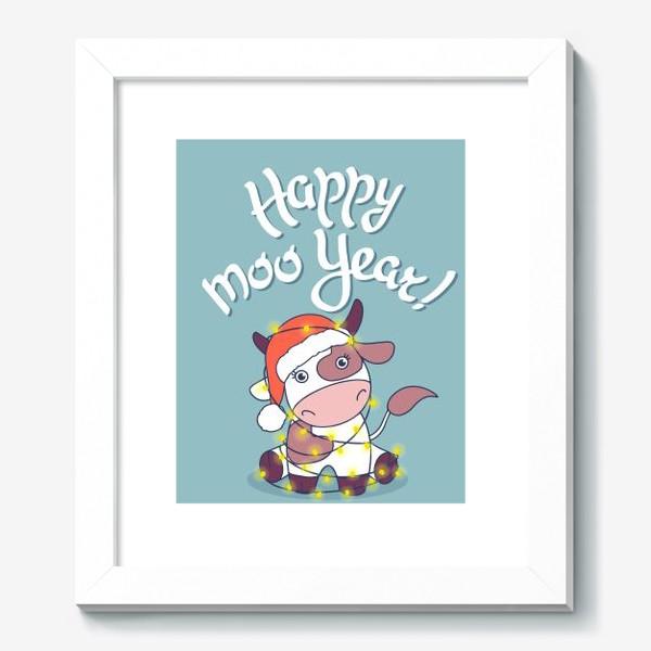 Картина «happy moo year»
