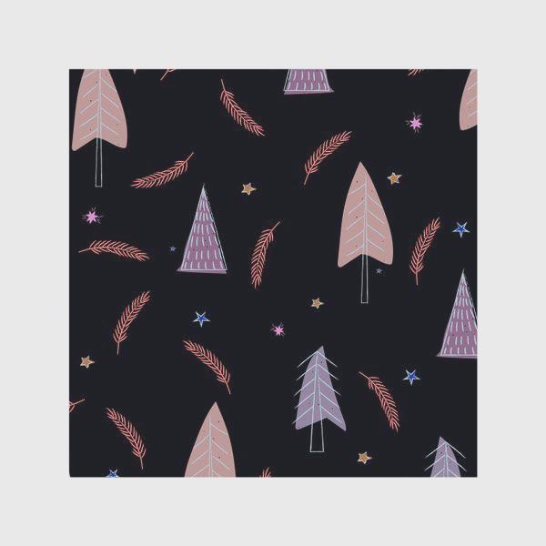 Скатерть «новогодние ёлки»