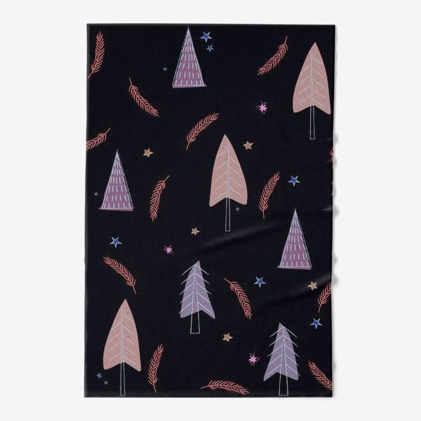 Полотенце «новогодние ёлки»