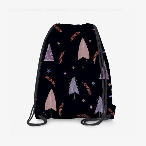Рюкзак «новогодние ёлки»