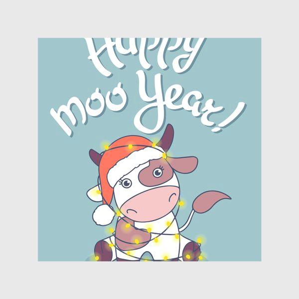 Скатерть «happy moo year»