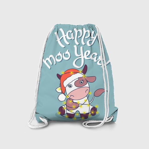 Рюкзак «happy moo year»