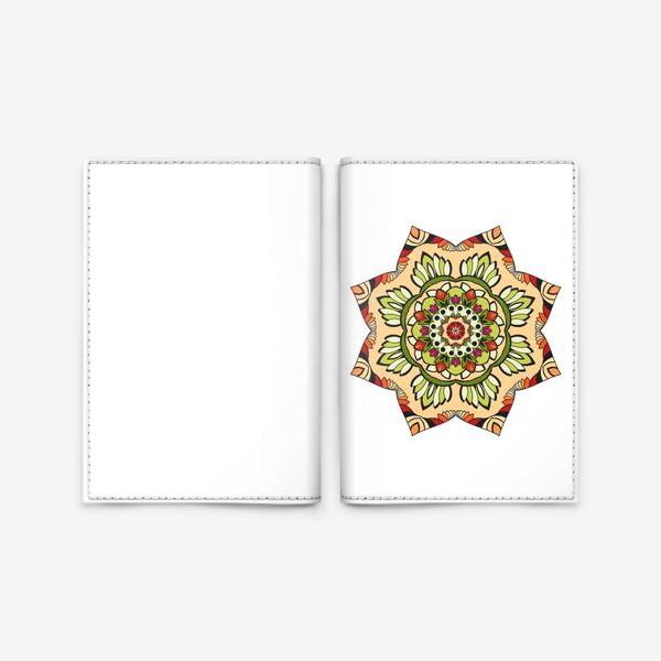 Обложка для паспорта «Maya»