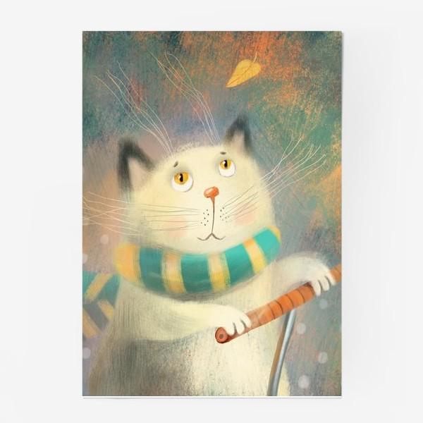 Постер «Котик.»