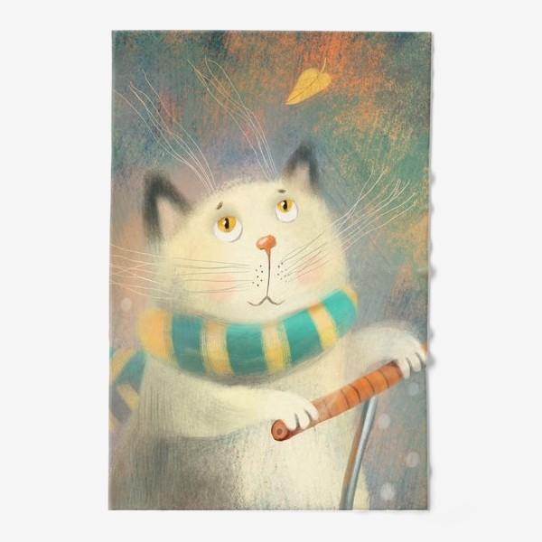 Полотенце «Котик.»